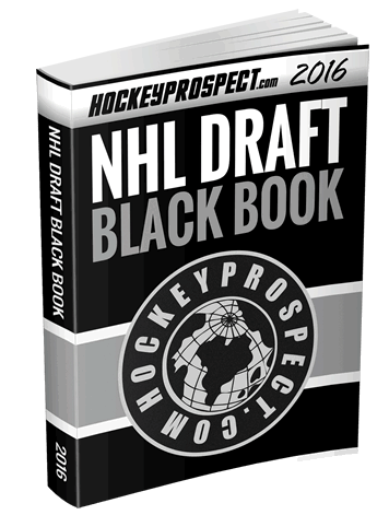 2016 NHL Draft Black Book